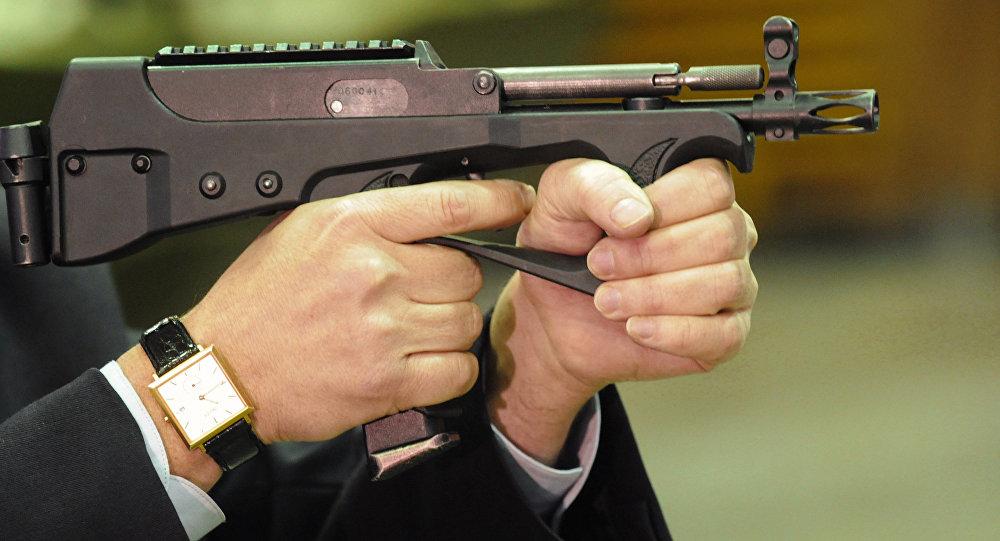Sub-metralhadora (imagem referencial)