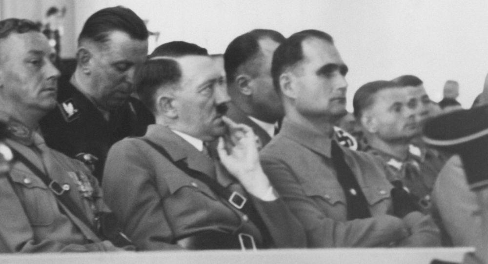 Adolf Hitler e Rudolf Hess