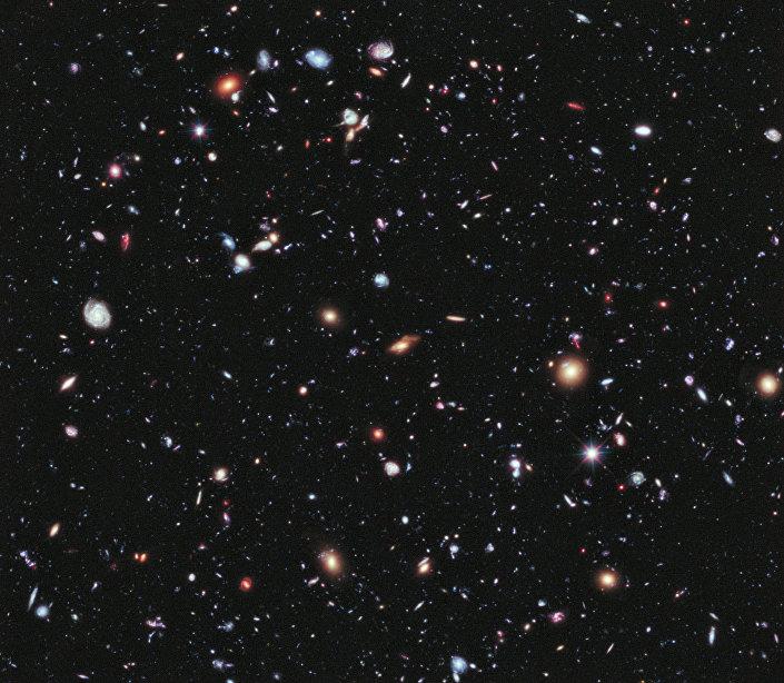 Imagem do Hubble Ultra Deep Field de 2012