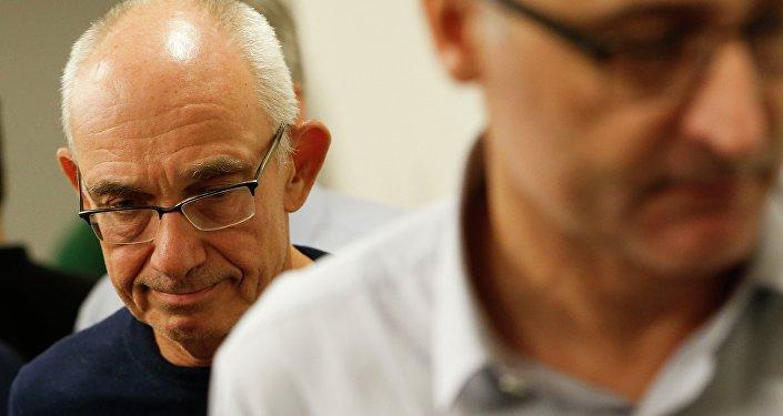 O diretor-presidente da Vale, Fabio Schvartsman, durante entrevista coletiva sobre rompimento de barragem em Brumadinho.