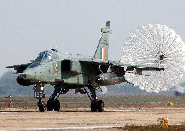 Caça Jaguar da Força Aérea da Índia