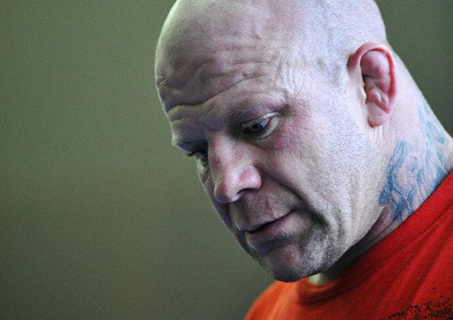 Lutador norte-americano de MMA Jeff Monson