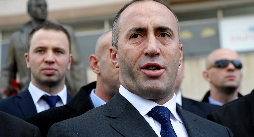 Ramush Haradinaj, ex-primeiro-ministro do Kosovo