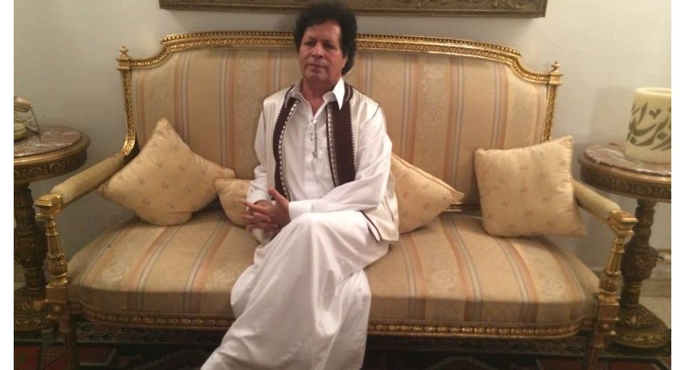 Ahmed Gaddaf al-Dam al-Qaddafi, ex-Coronel do exército líbio, um dos mais influentes chefes de segurança interna do antigo regime e primo do ex-presidente da Líbia, Muammar al-Qaddafi