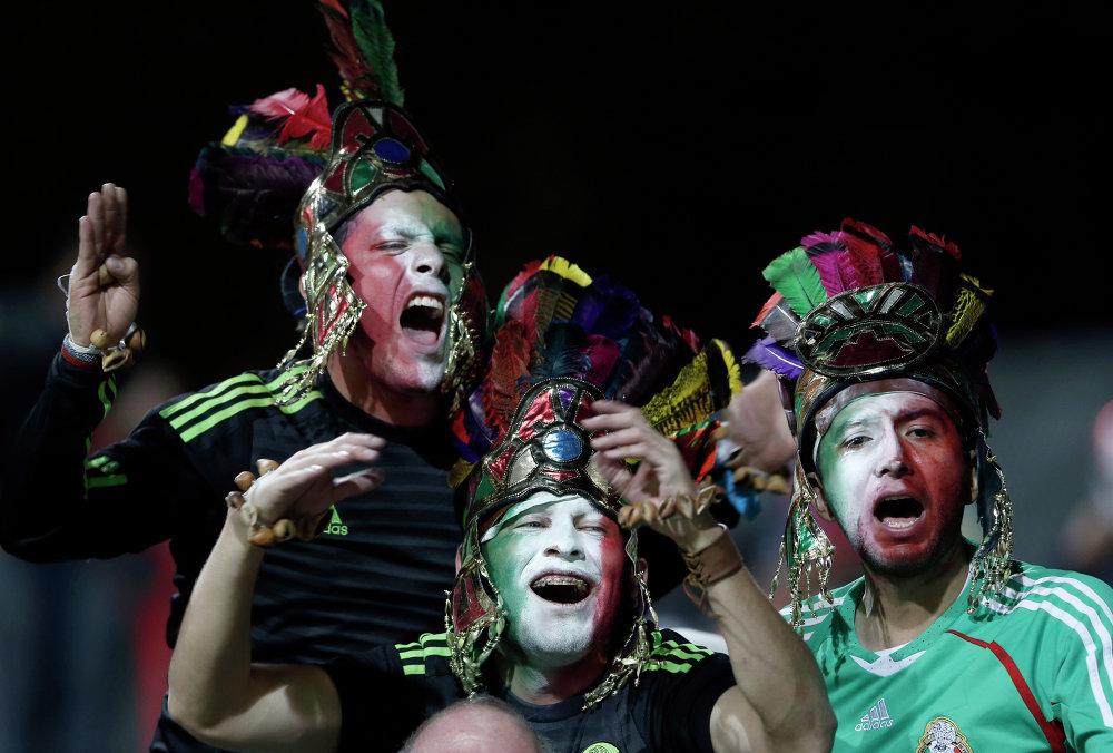 Tordecores do México preparam-se para o jogo com Bolívia em 12 de junho