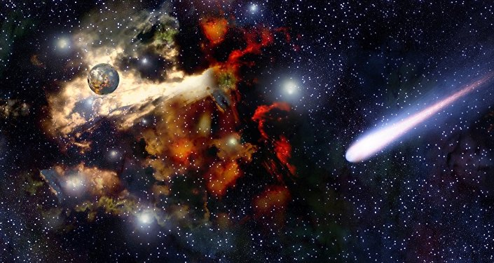 Um planeta no Universo (apresentação artística)