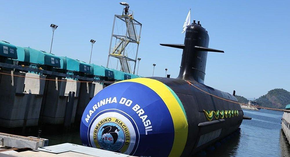 Submarino Riachuelo, o primeiro do programa que prevê a conclusão do primeiro submarino nuclear brasileiro