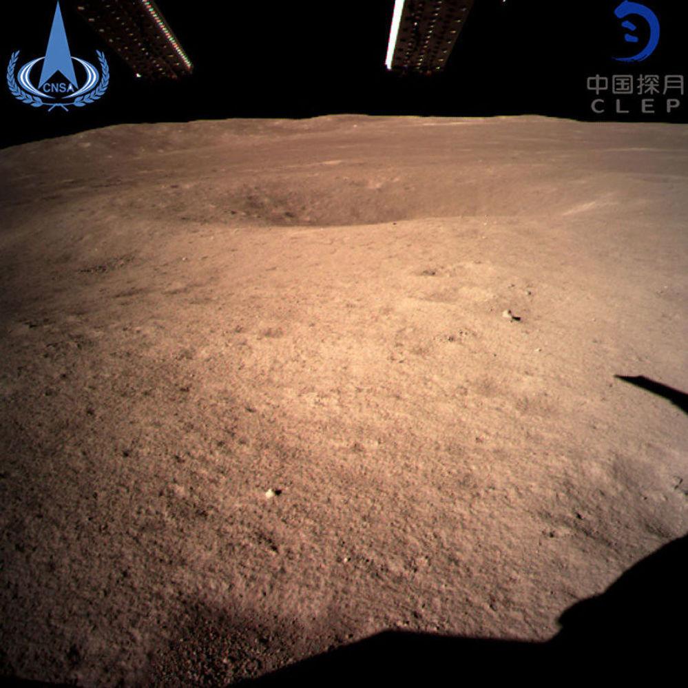 Chang'e 4, a espaçonave chinesa dedicada a exploração lunar, investiga o lado escuro do satélite natural da Terra