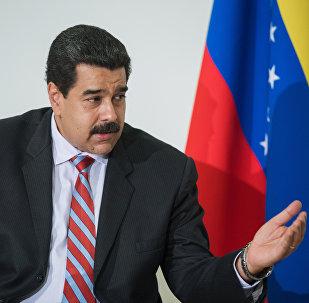 Nicolás Maduro, presidente da Venezuela (foto de arquivo)