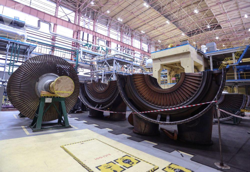 Imagem da usina nuclear de Kola, situada na região de Murmansk, Extremo Norte da Rússia