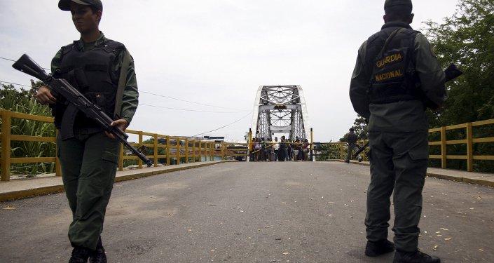 Situação na fronteira entre Venezuela e Colômbia