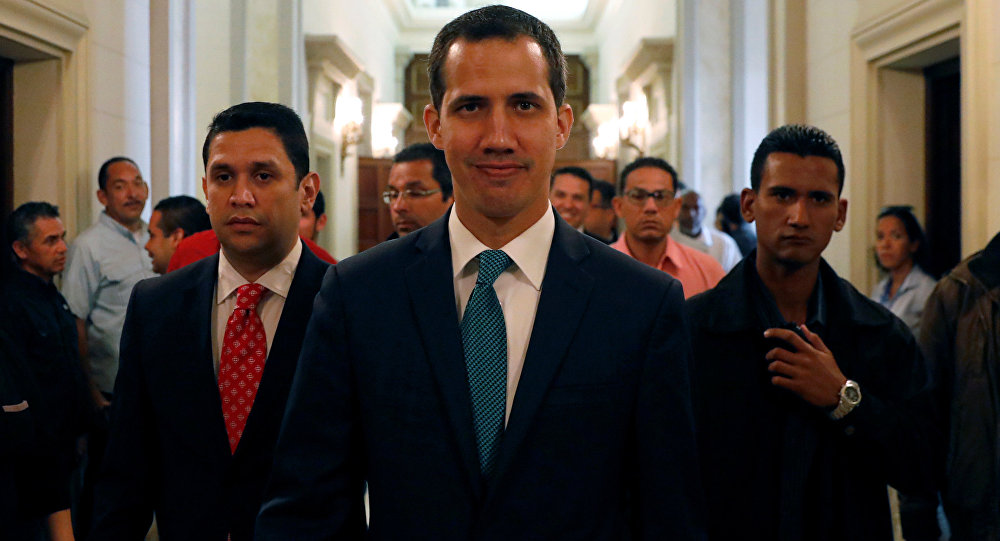 Juan Guaidó, presidente da Assembleia Nacional da Venezuela