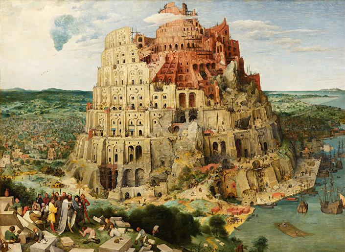 A Torre de Babel, pintura a óleo de Pieter Bruegel