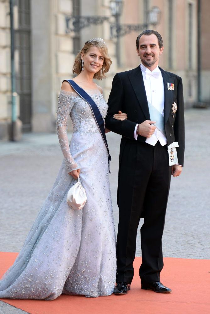 Em 25 de agosto de 2010, o príncipe Nikolaus da Grécia e Dinamarca se casou com Tatiana Blatnik, nascida em Caracas, mas de origem eslovena-alemã. Antes de se casar com o príncipe, ela vivia em Londres trabalhando como organizadora de eventos e consultora de publicidade