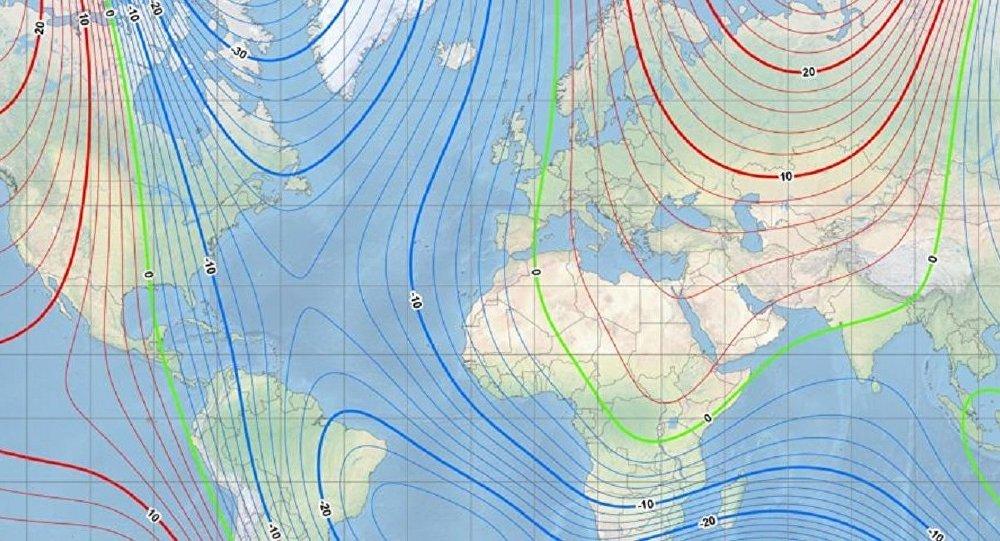 Ciclo do Modelo Magnético Mundial (WMM)
