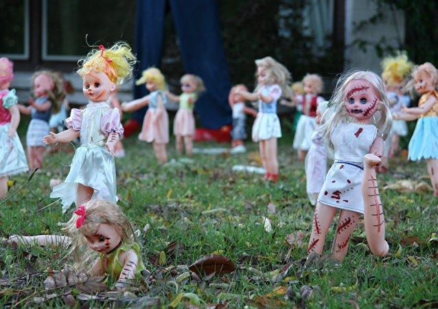 Bonecas do Dia das Bruxas (imagem referencial)