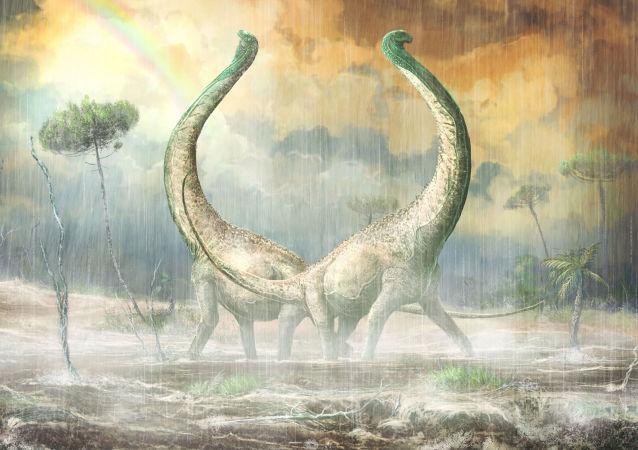 Titanossauros Mnyamawamtuka moyowamkia