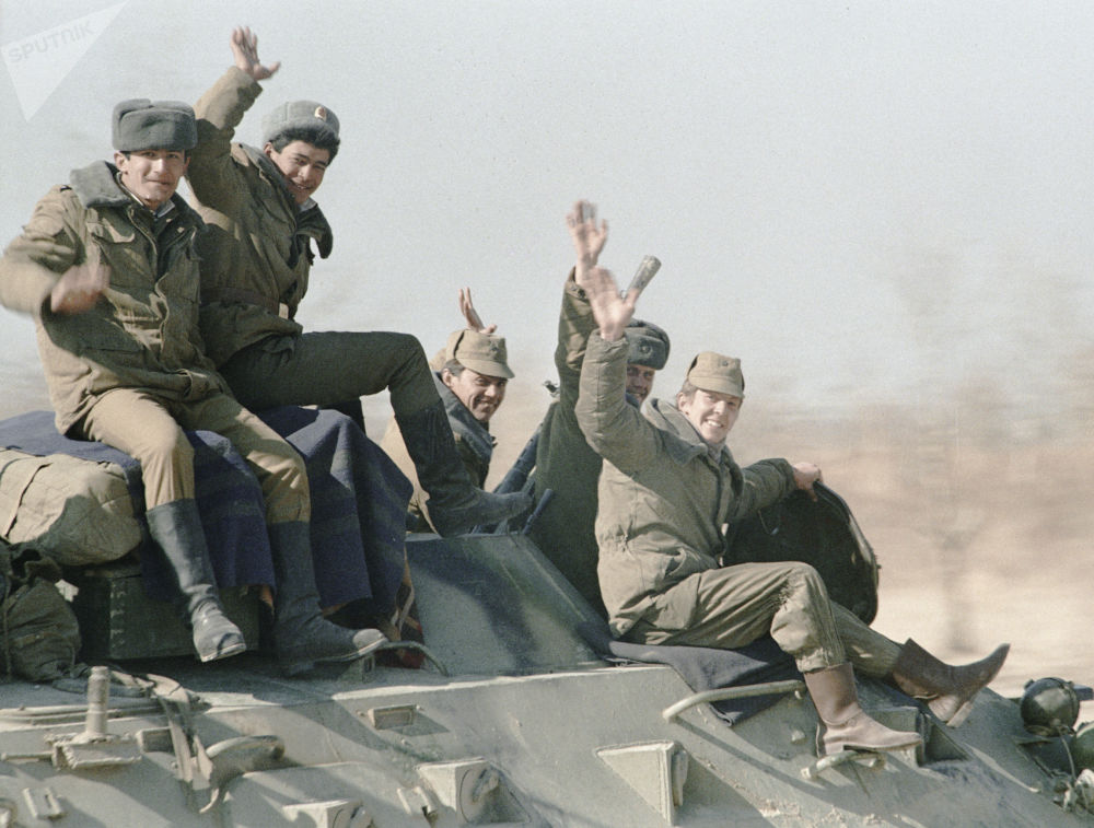 Retirada de contingente limitado de tropas soviéticas do Afeganistão, em 14 de fevereiro de 1989