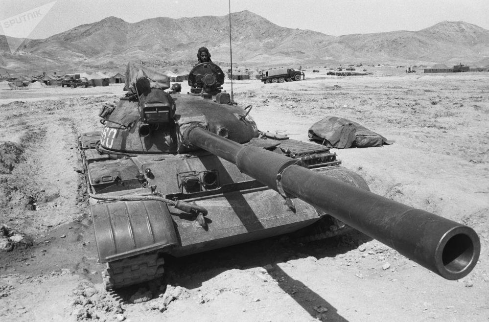 Contingente limitado de tropas soviéticas nas montanhas do Afeganistão