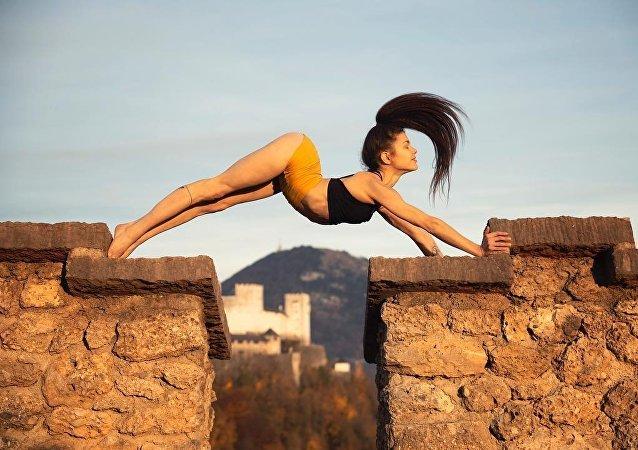 Stefanie Millinger, ginasta austríaca
