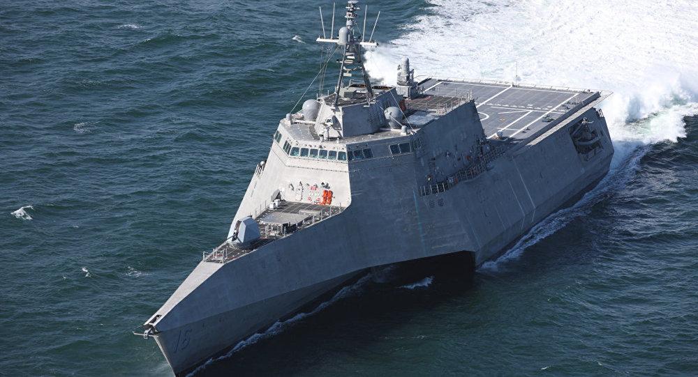 Navio de combate USS Tulsa