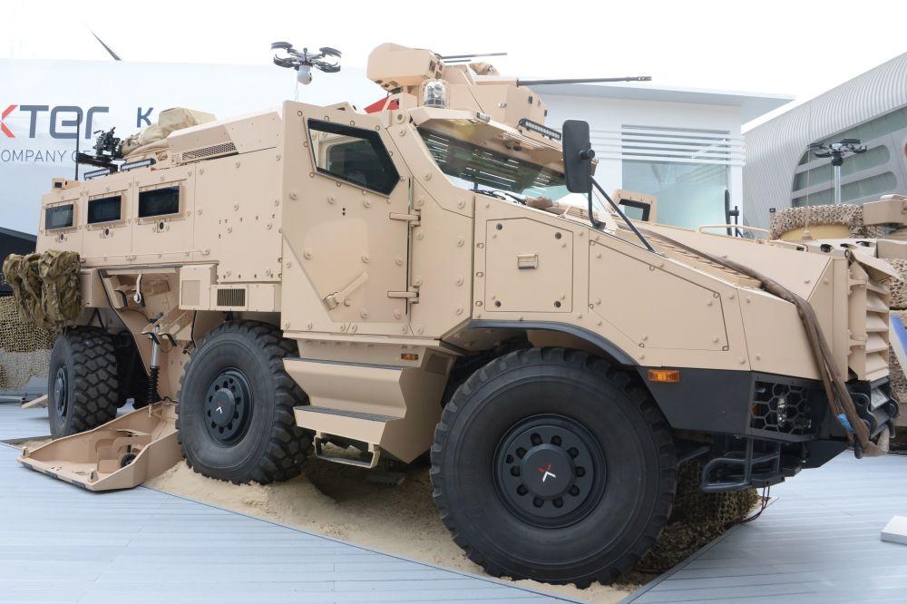Veículo blindado Titus da empresa Nexter