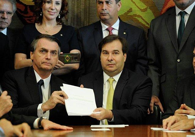 Texto da reforma da Previdência é apresentado no Congresso Nacional