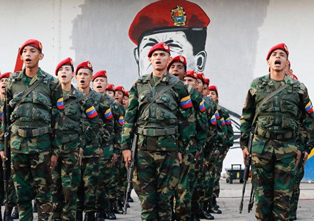 Militares venezuelanos