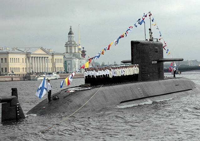 Submarino russo da classe Lada
