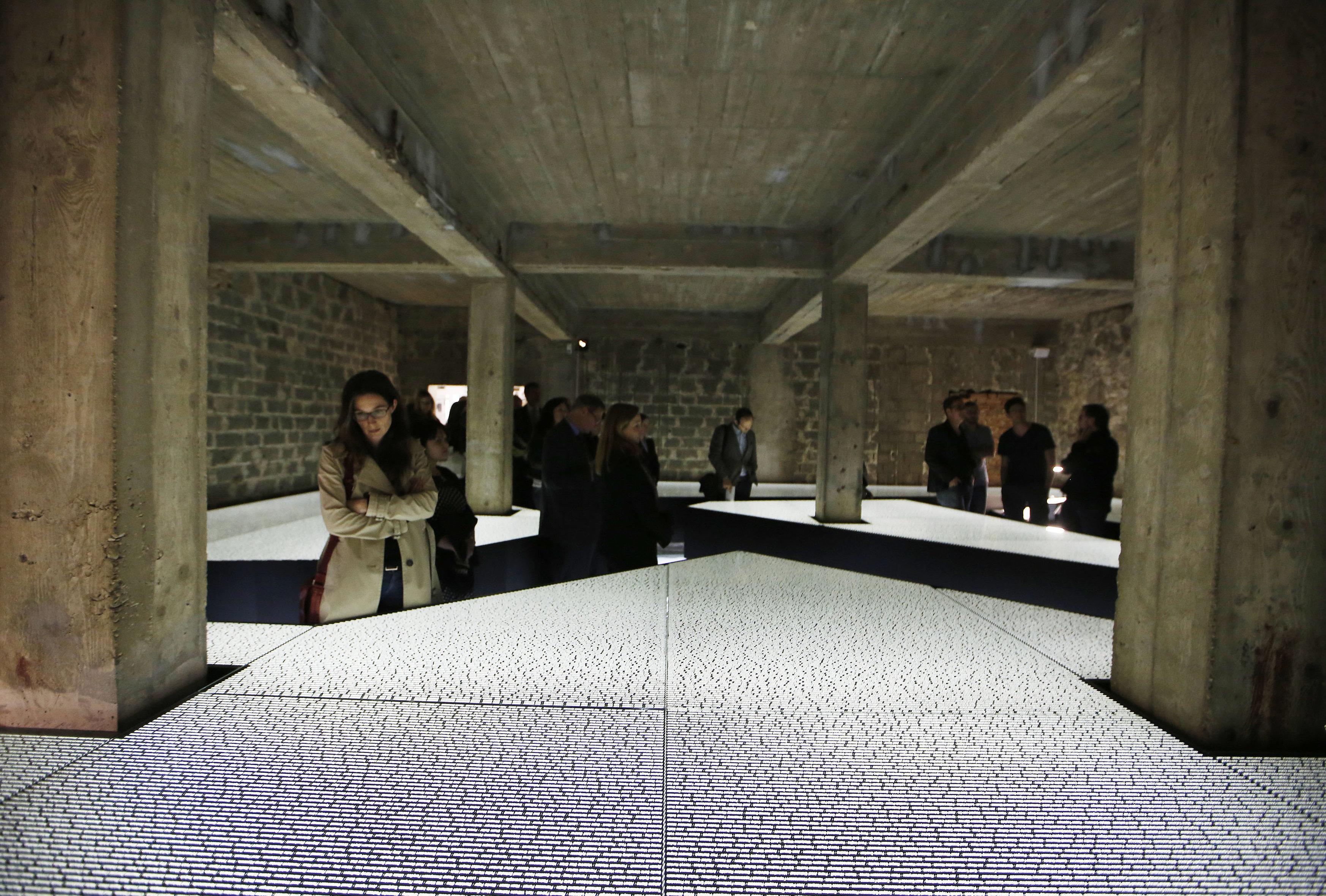 Monumento em homenagem às vítimas do campo concentração de Mauthausen