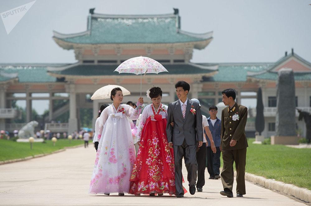 Um casamento em Pyongyang