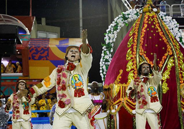 Desfile da Unidos de Padre Miguel.