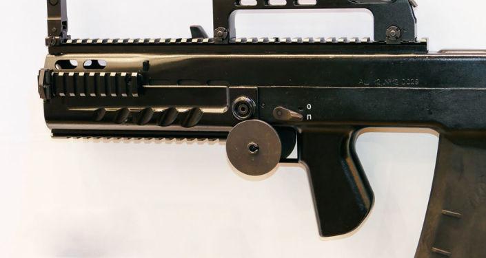 Fuzil de assalto russo de grande calibre ASh-12
