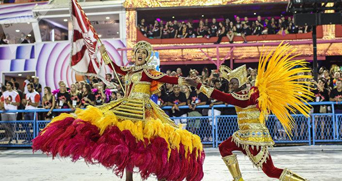 Desfile da Unidos de Bangu.