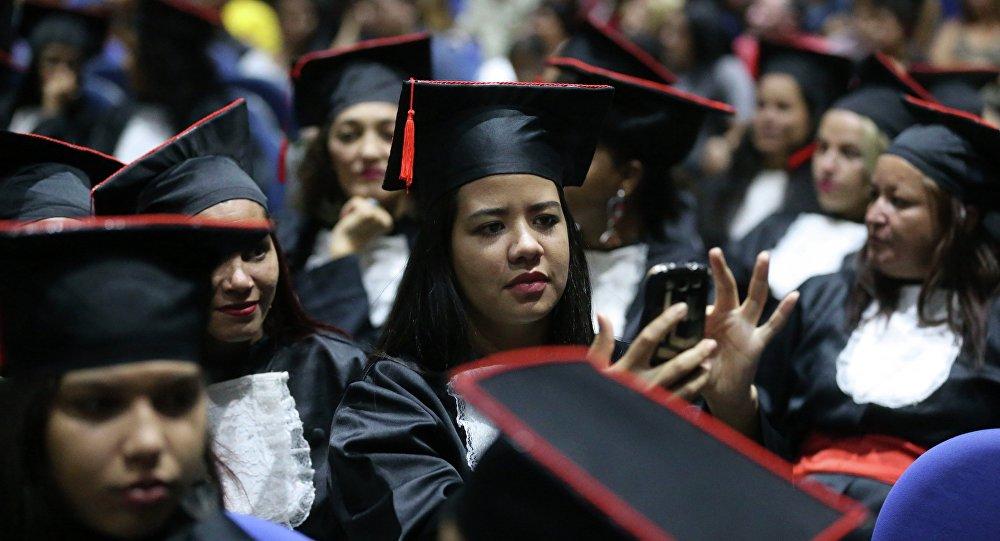 Cerimônia de formatura do Programa Pronatec Mil Mulheres, Brasília, foto de arquivo