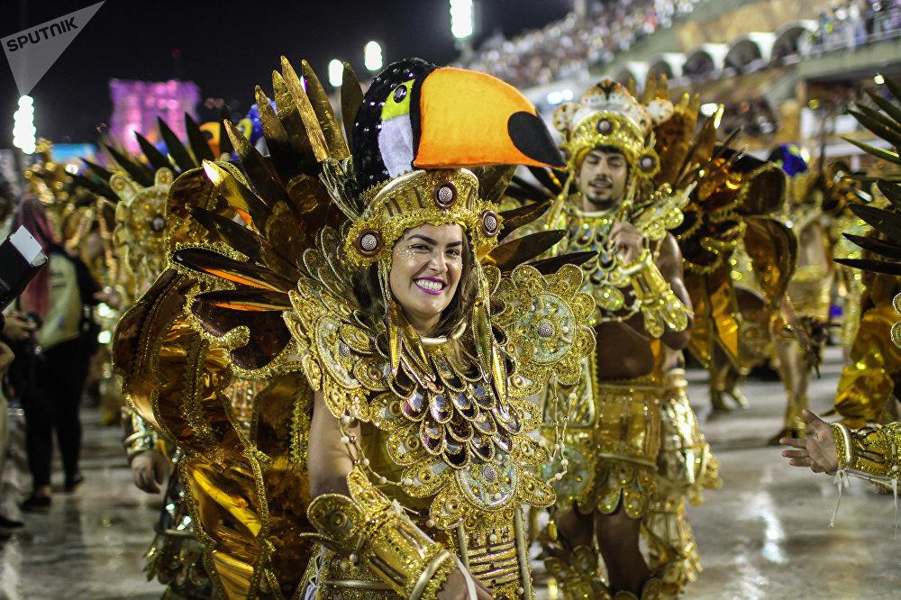 Desfile da Beija Flor.