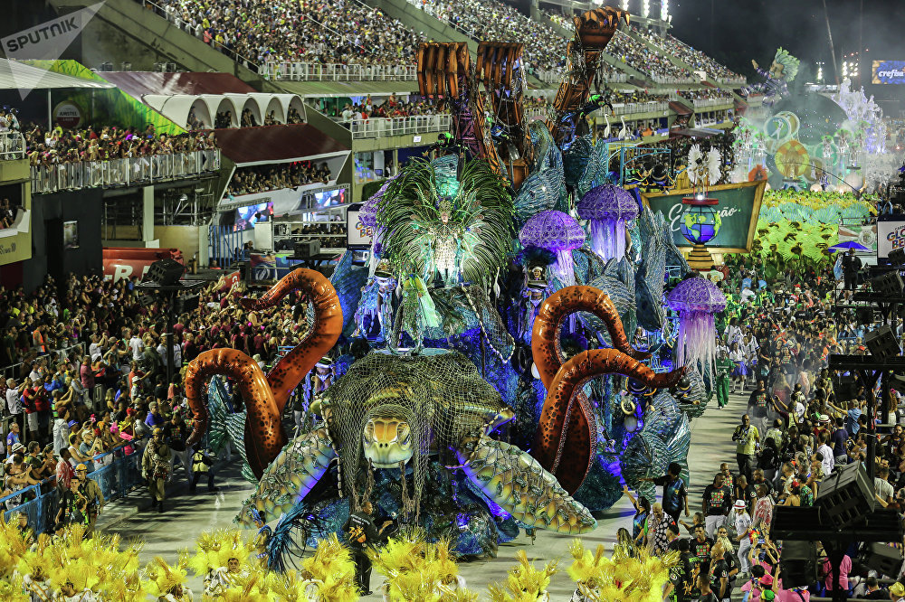 Desfile da Grande Rio.