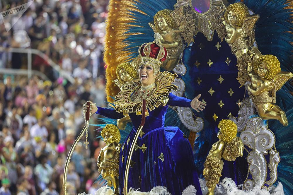 Desfile do Salgueiro.