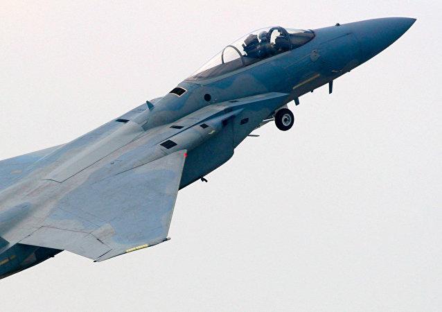 Jato F-15 (arquivo)