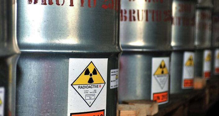 Urânio no barril (imagem de arquivo)