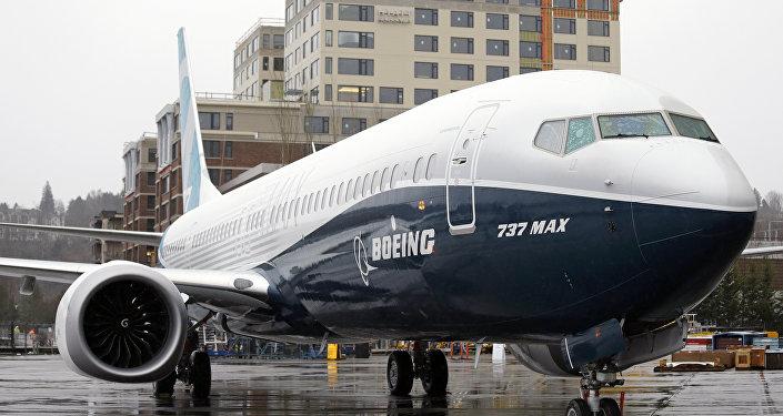Avião comercial Boeing 737 MAX 9 da Boeing, em Renton, EUA (foto de arquivo)