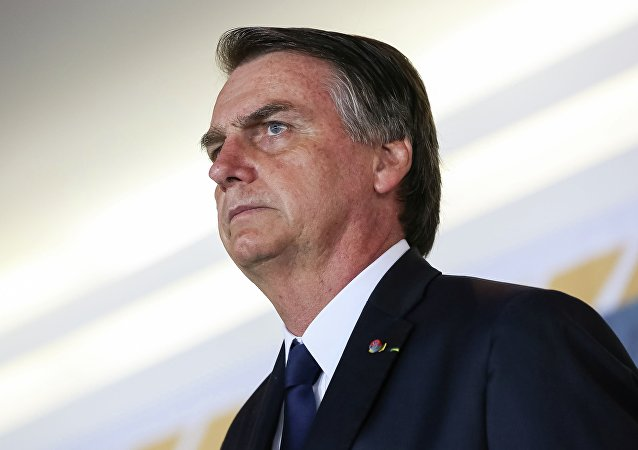 O presidente do Brasil, Jair Bolsonaro