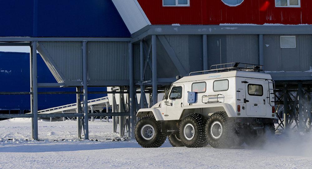 Base do Ministério da Defesa da Rússia no Ártico