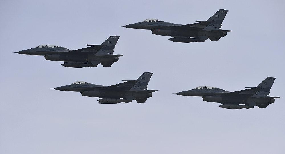 Caças F-16 da Força Aérea do Paquistão
