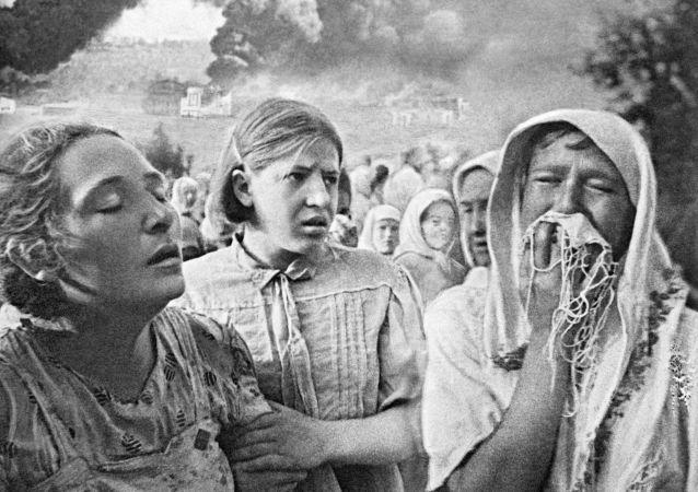 Os primeiros dias da Grande Guerra Patriótica em Kiev.