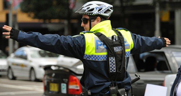 Membro da Polícia de Nova Gales do Sul, na Austrália (arquivo)