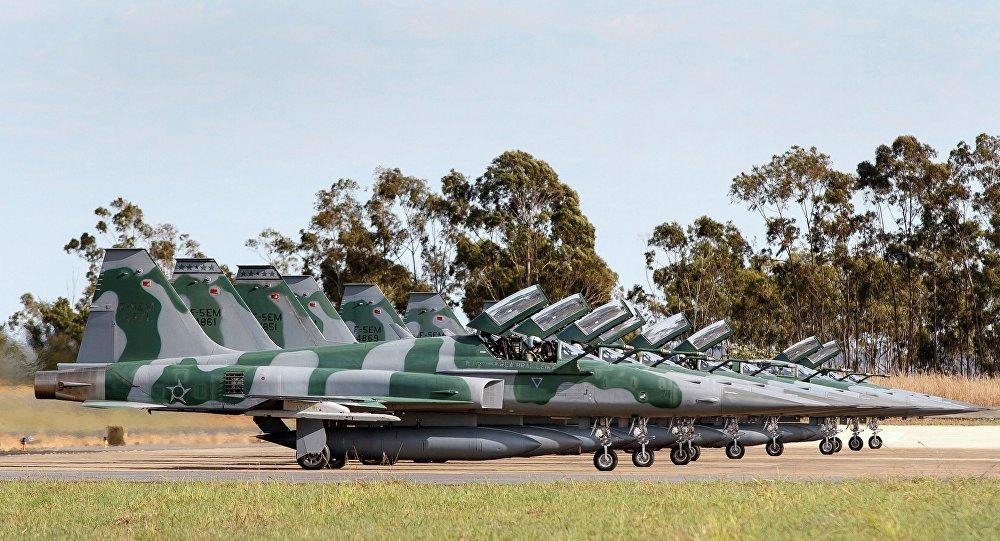 F-5EM da Força Aérea Brasileira (foto de arquivo)