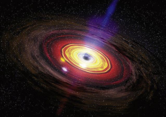 Buracos negros supermassivos, o maior tipo de buraco negro, são normalmente encontrados no centro de grandes galáxias.
