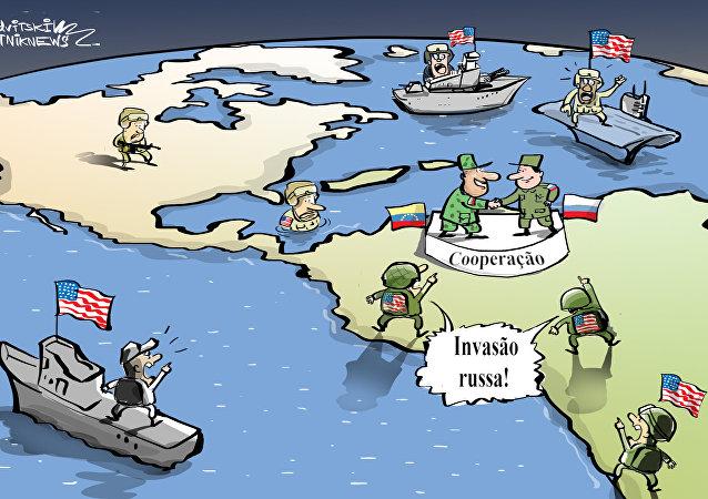 Cooperação mais temível do que invasão