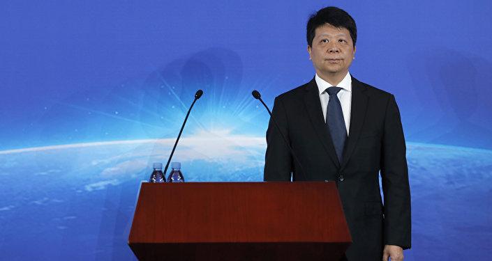 Guo Ping, presidente de Huawei